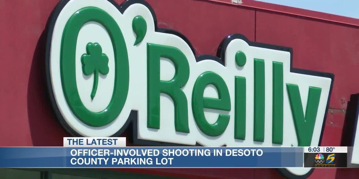 Officer-involved shooting in DeSoto County parking lot