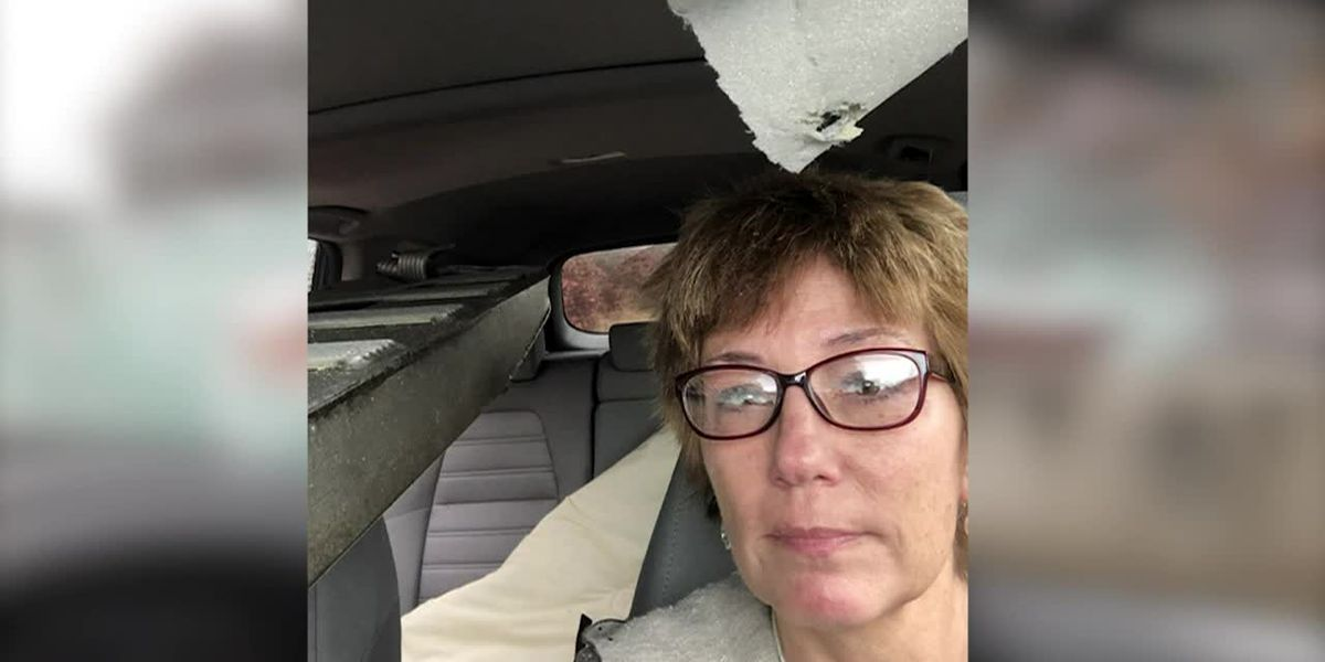 Driver claims CVS truck caused ramp to fly into windshield, wreck her car