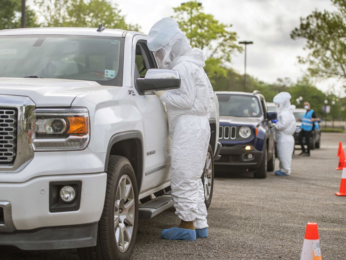 One-day, drive-through coronavirus testing centers to open in Mississippi this week