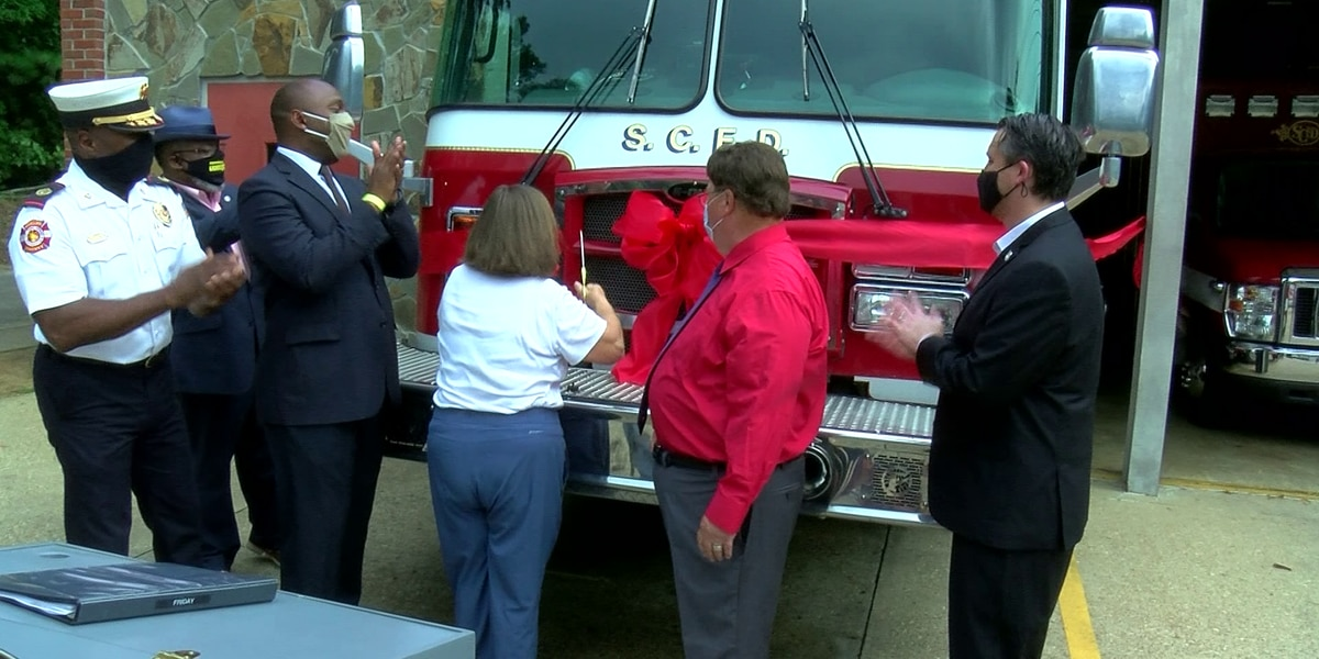 Fire Engine 60 returns to service