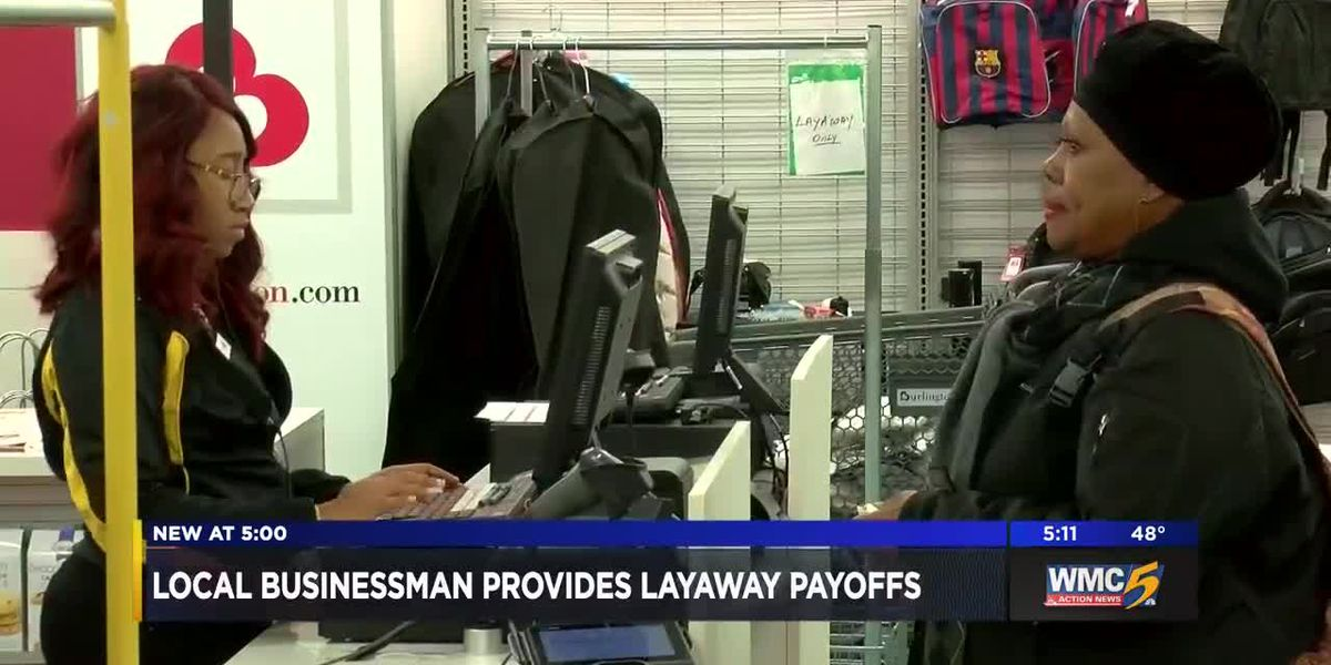 Over 400 families get layaway balances paid off at East Memphis Burlington store