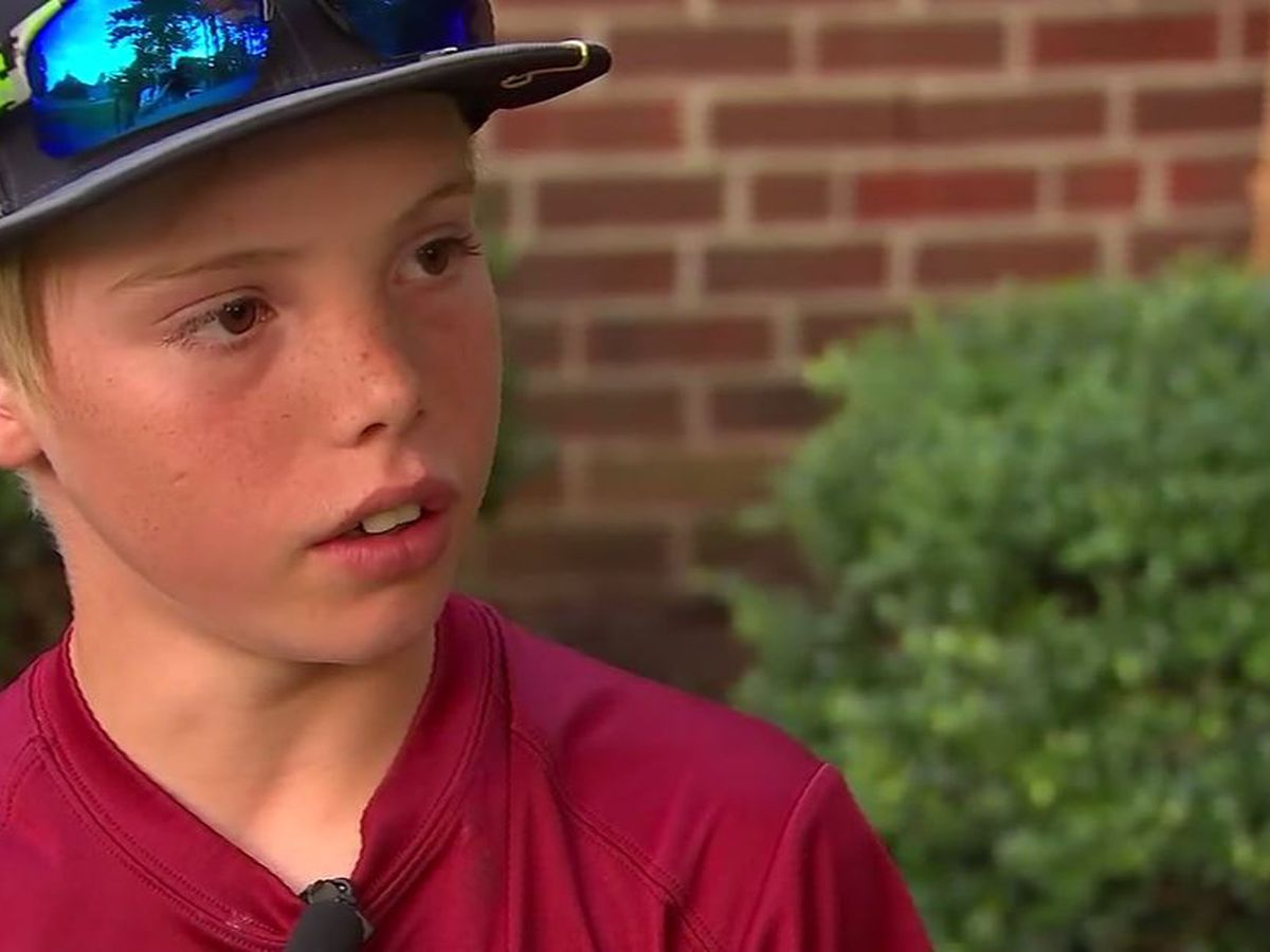 Machete-wielding 11-year-old describes fighting off home intruder