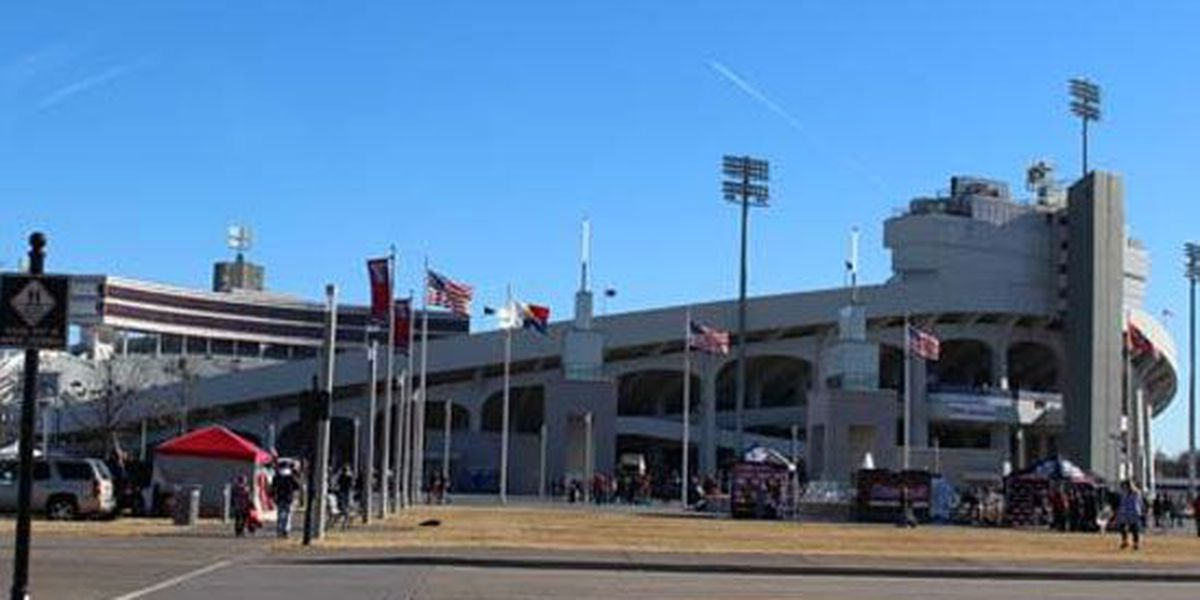 Clear bag policy in effect for Tigers football games