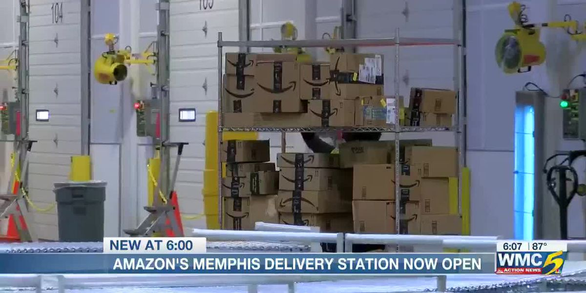 Amazon's Memphis Delivery Station now open