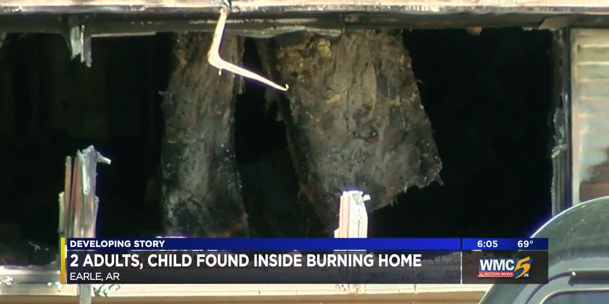 Arkansas deputies launch homicide investigation after man, woman and child found dead inside burning