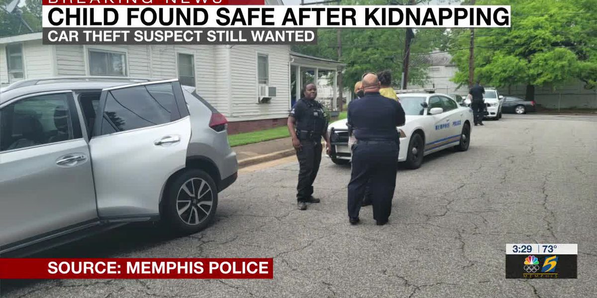 Child found safe after abduction inside stolen SUV, search for theft suspect continues