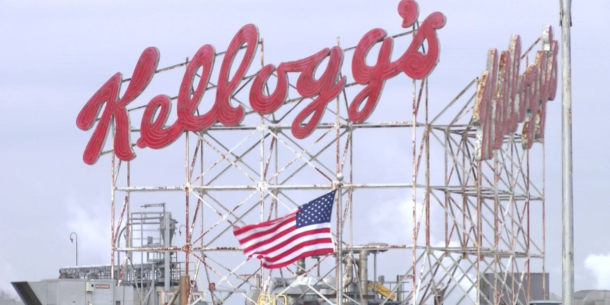 Rossville Kellogg plant to lay off 117 employees