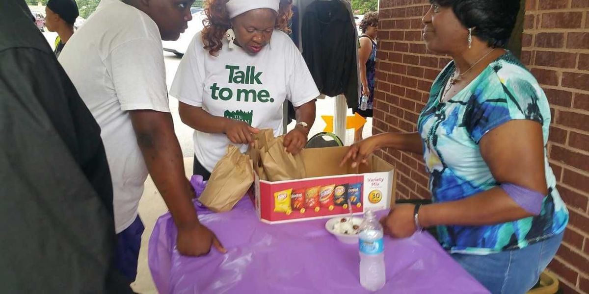 Union Grove Baptist Church hosts back to school giveaway