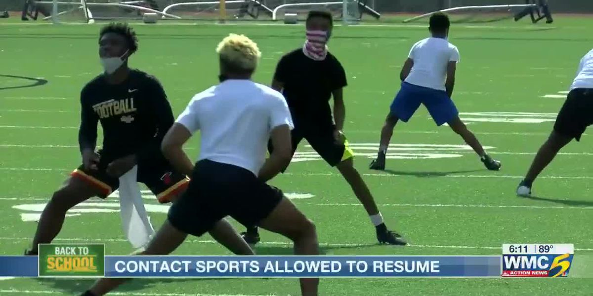 Is it safe to allow contact sports in schools to resume?