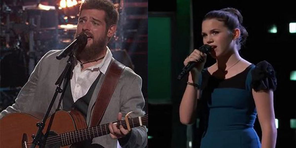 Former 'Voice' contestant roots for Reagan Strange as she fights for spot in the finals