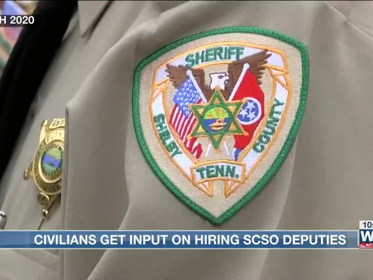Citizens help hire future sheriff deputies