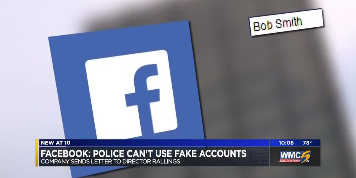 Facebook warns Memphis police against using fake accounts