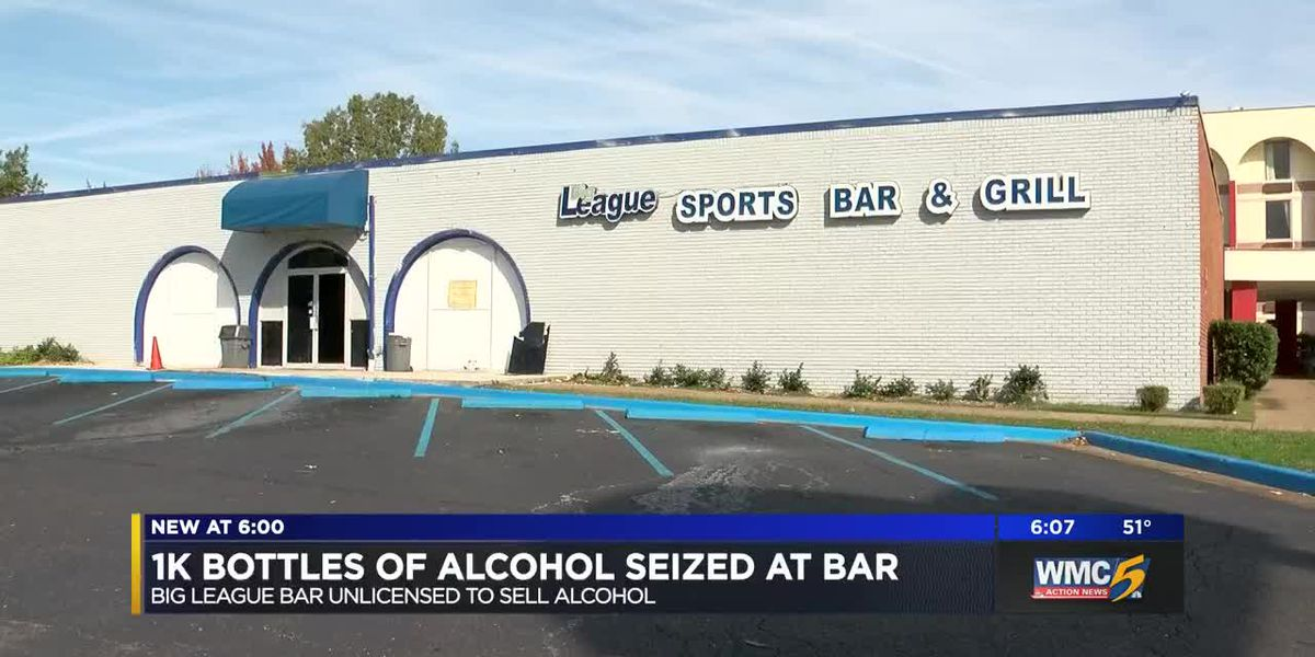 1K bottles of alcohol seized at bar