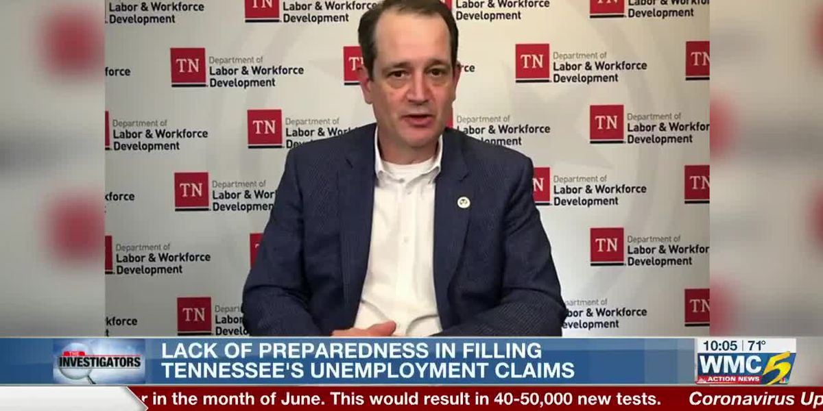 TN Dept. of Labor says federal guidance for unemployment could have been more 'clear', 'timely'