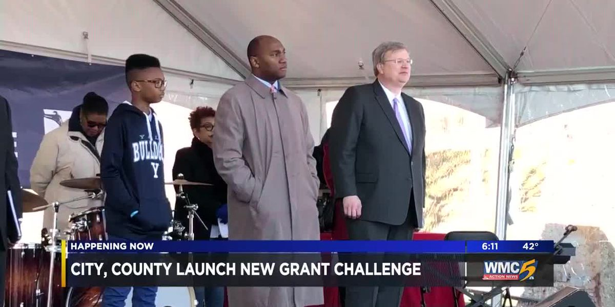 Memphis, Shelby County launch new grant challenge to better the community