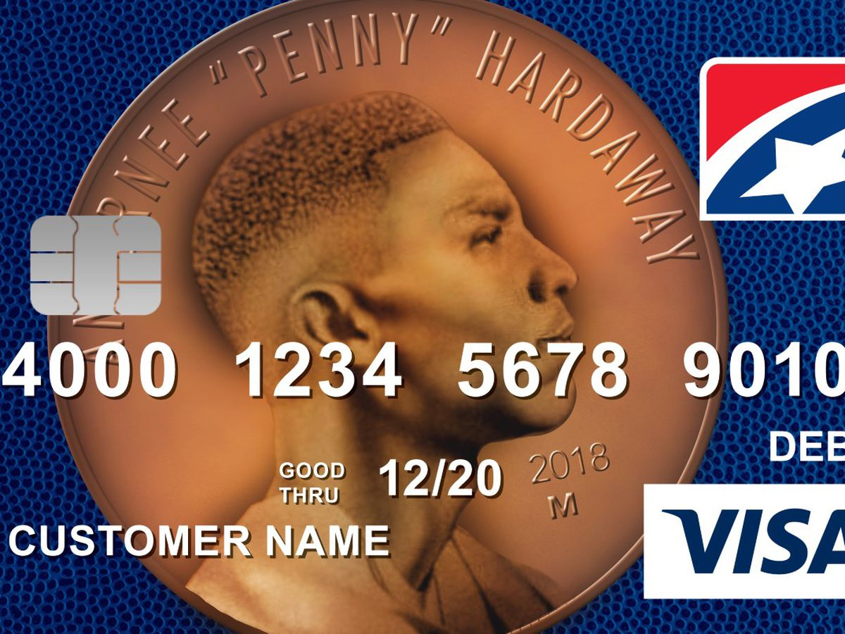 New debit card features Penny Hardaway
