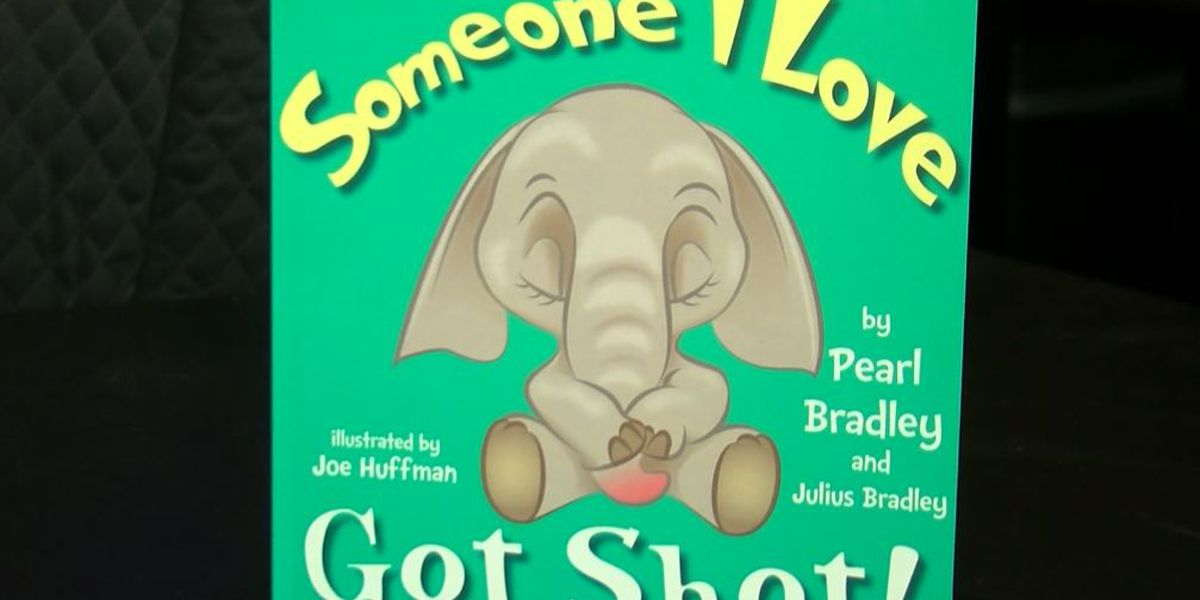 SCS counselor writes children's book hoping to help students cope with gun violence