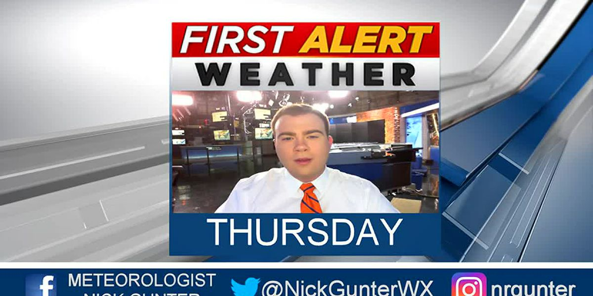 Thursday, October 10th, First Alert Forecast