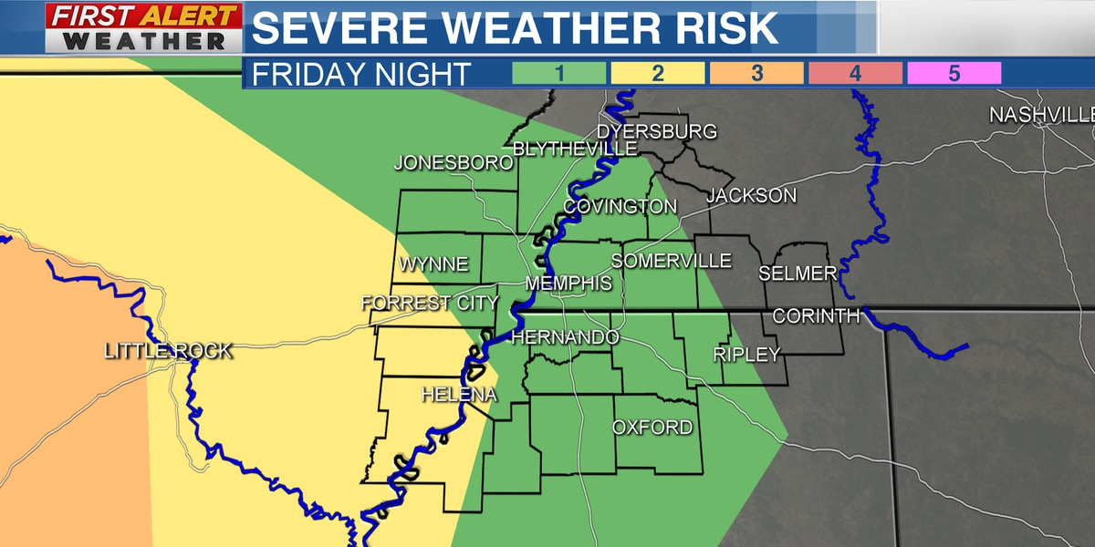 FIRST ALERT: Tracking a threat for storms Friday night into Saturday morning