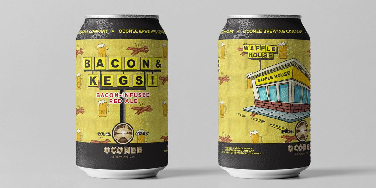 It's Waffle House in a can: Bacon & Kegs! ale