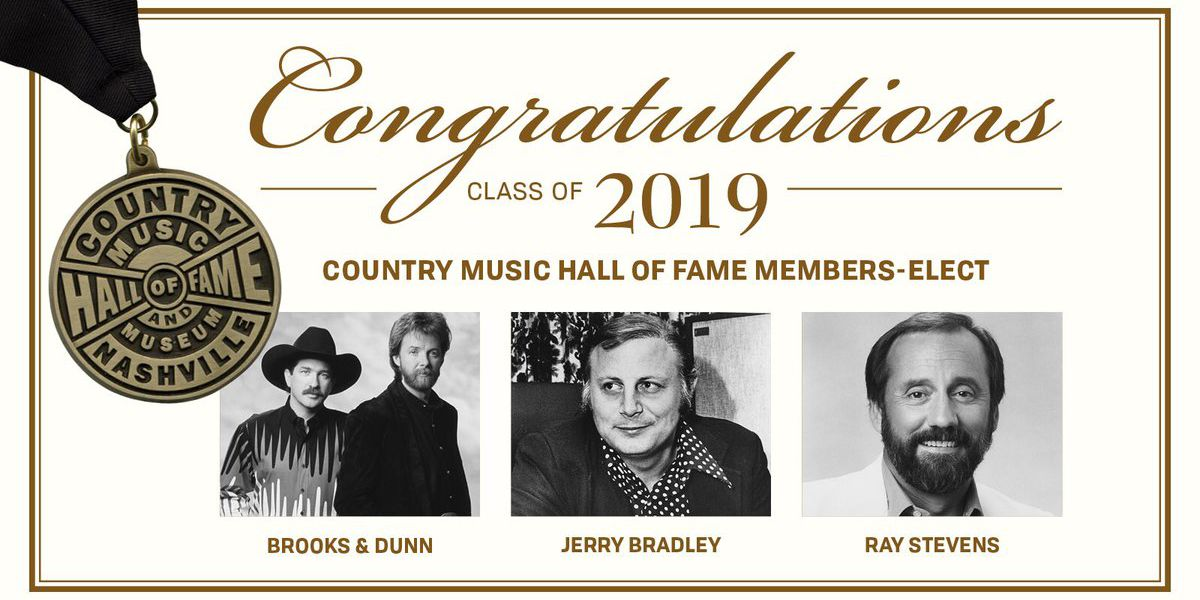 Country Music Hall of Fame names class of 2019 inductees