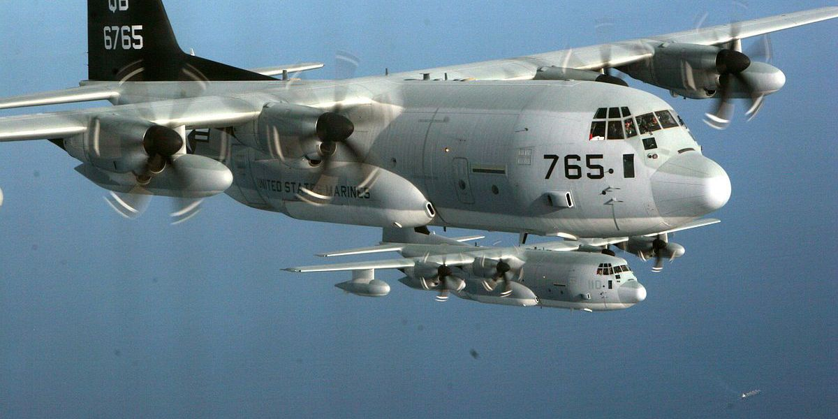 Get to know the KC-130 aircraft