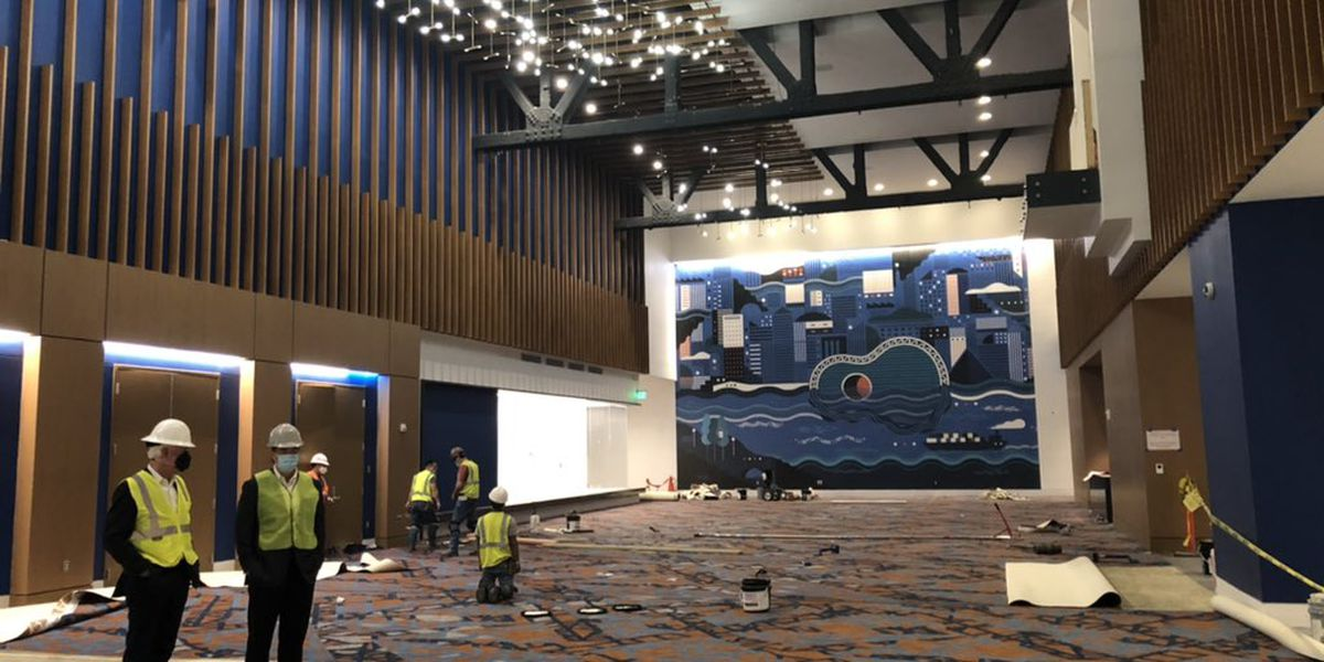 SNEAK PEEK: Renasant Convention Center renovations nearing completion in downtown Memphis