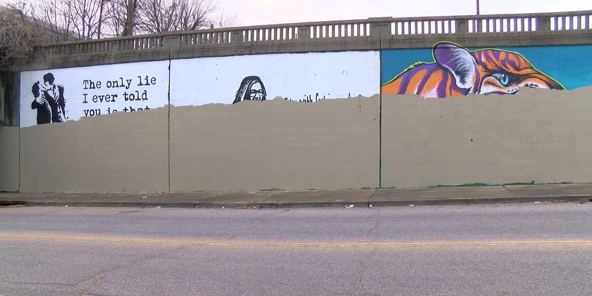 Paint Memphis murals mistakenly covered by city workers