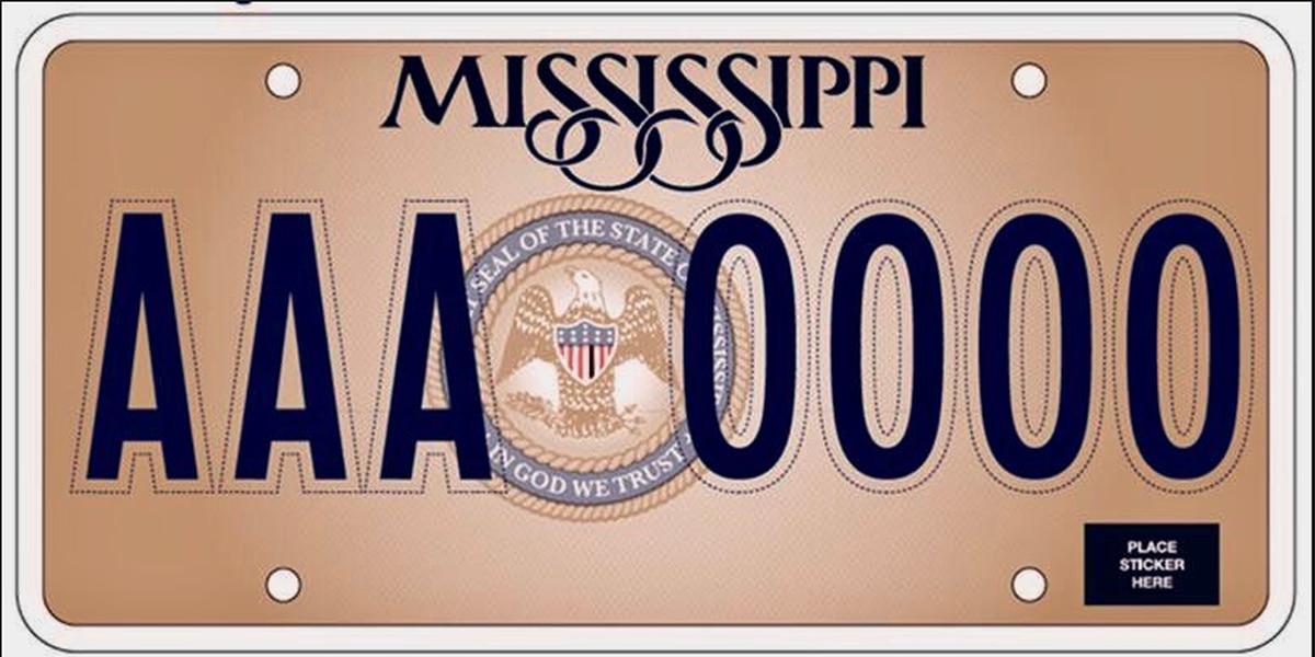 Humanist legal center seeks God-free Mississippi license plates