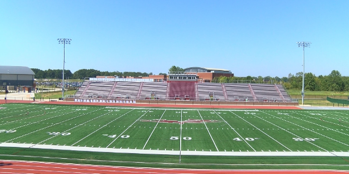 Collierville High unveils new sports facilities, including football stadium, basketball gyms
