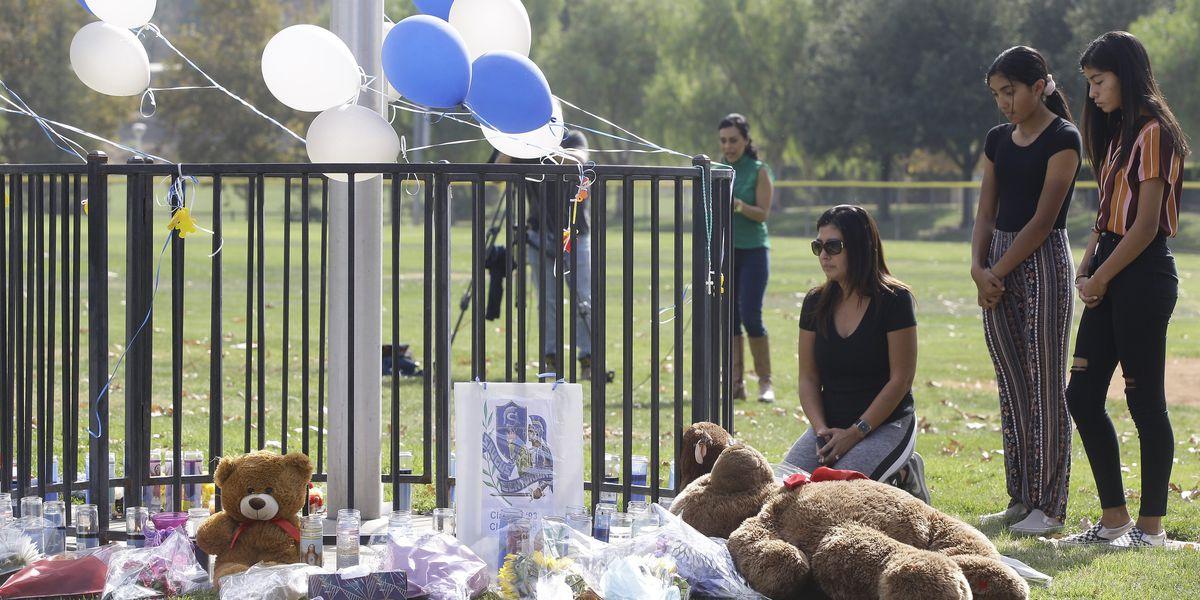 Southern California school shooter dies