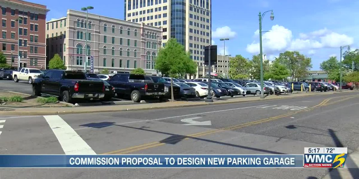 Downtown Memphis Commission plans for $500K downtown parking lot design