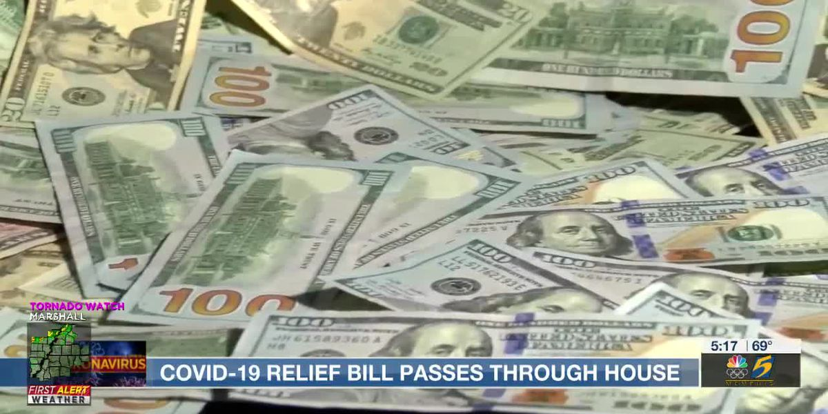 COVID-19 relief bill passes through house