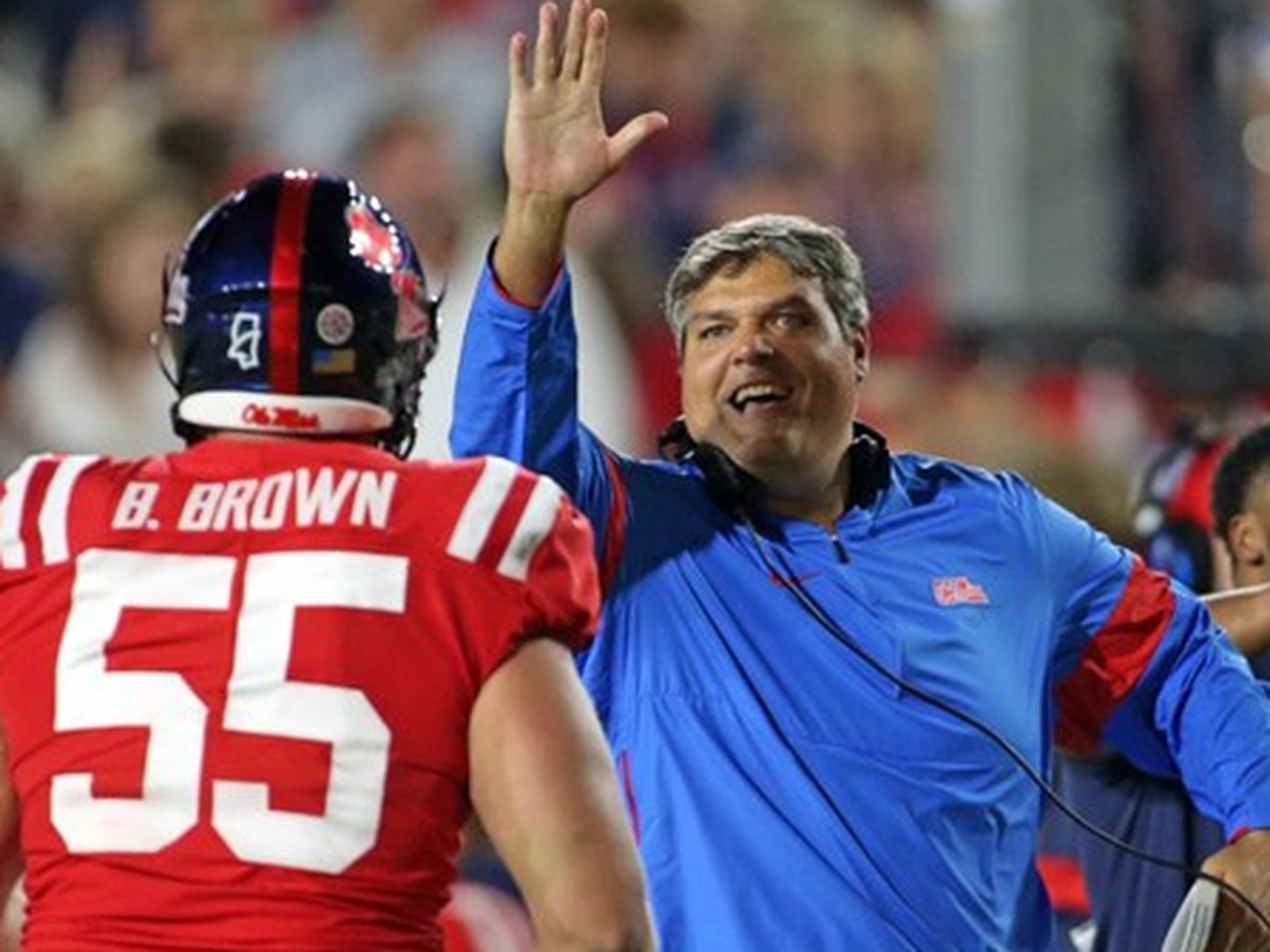 Ole Miss athletics director discusses firing of Coach Matt Luke