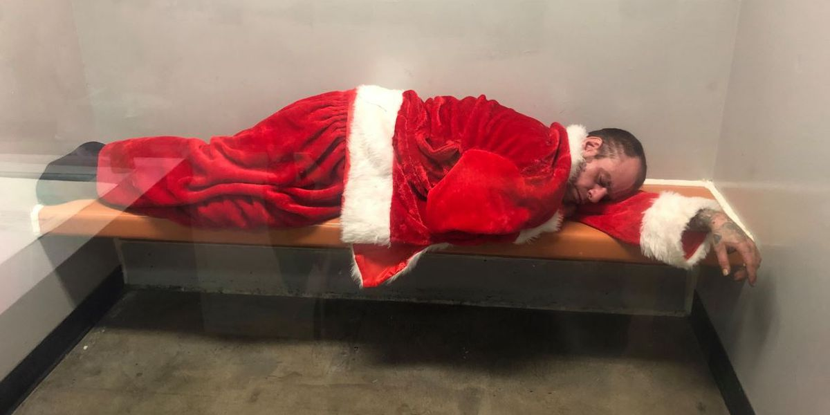 Man stole Santa Claus suit from church, police say