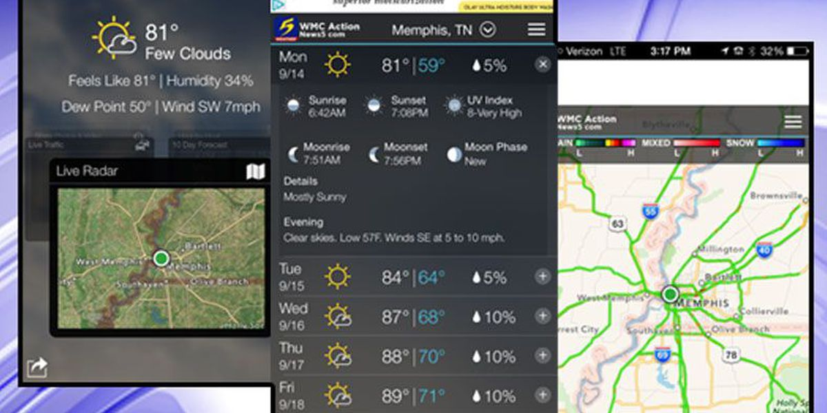 StormTrack 5 app for iPhone, iPad, Android