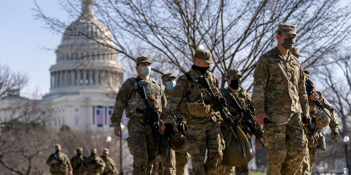 Authorities 'on high alert' in fear of armed protests at all 50 state capitols