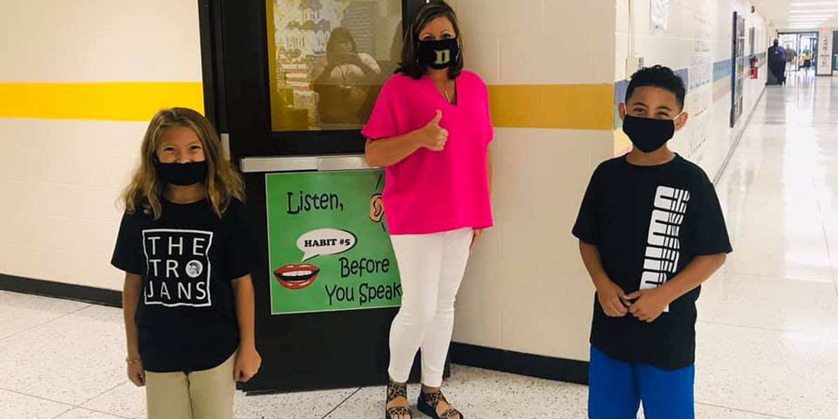 First day of school for Dyersburg City Schools amid pandemic