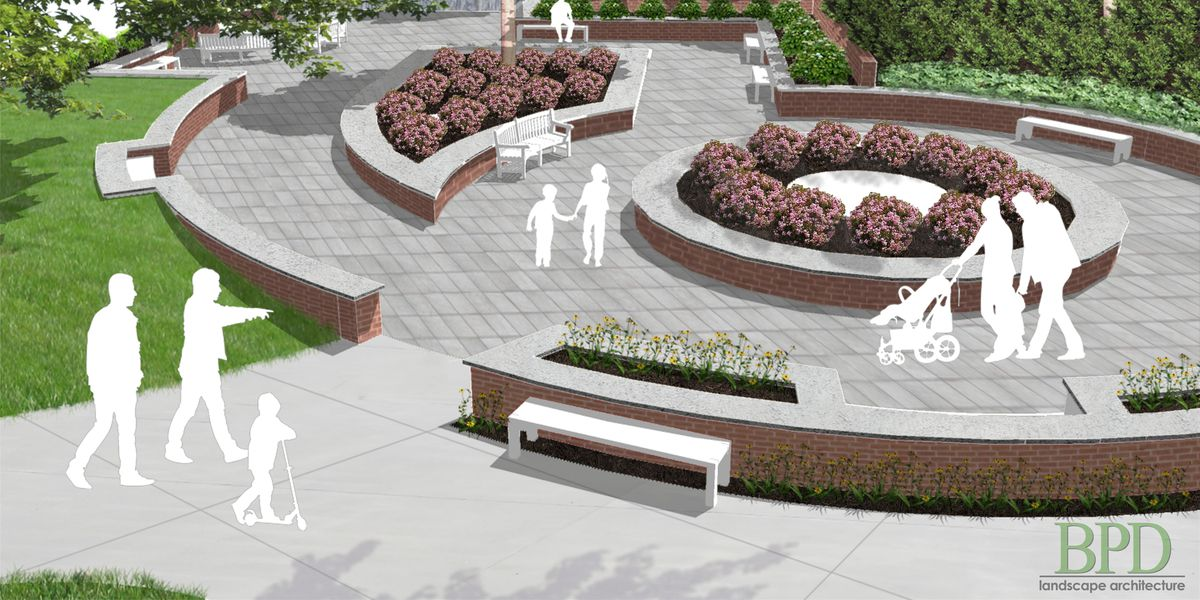 Le Bonheur adding interactive outdoor space for children and families