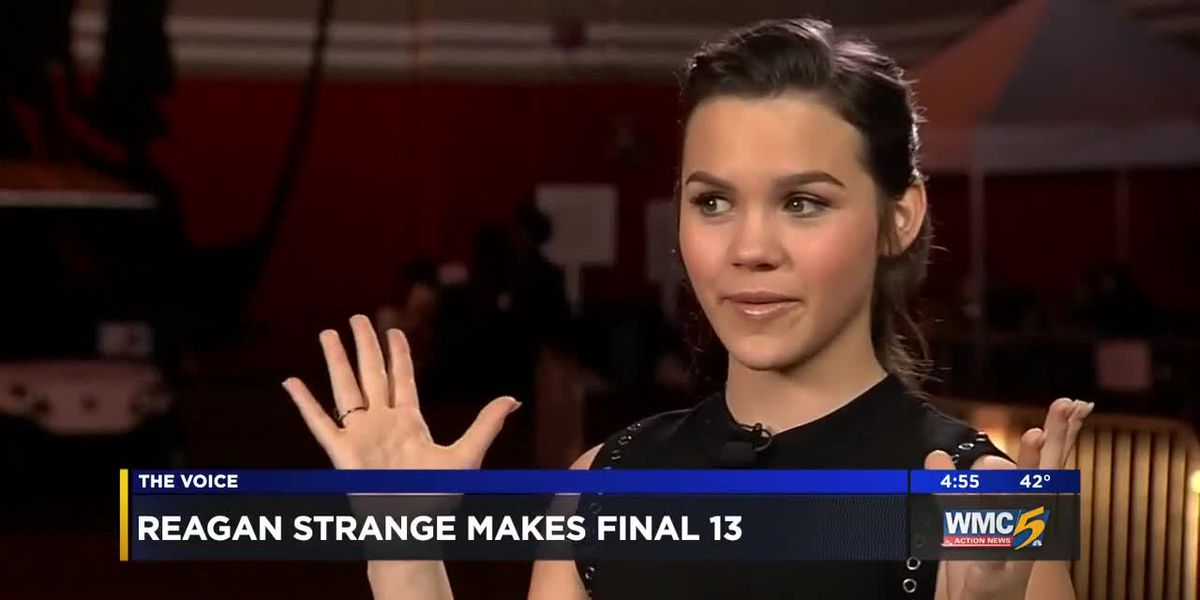Mid-South native Reagan Strange advances to next round on 'The Voice'