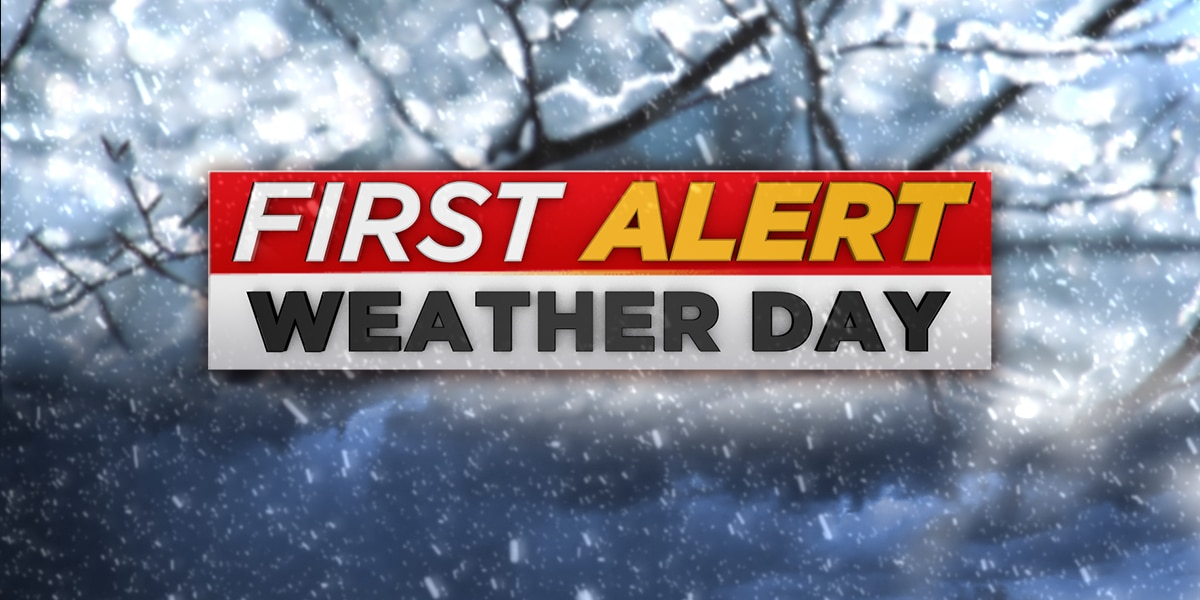 FIRST ALERT WEATHER DAY: Ice Storm Warning until noon