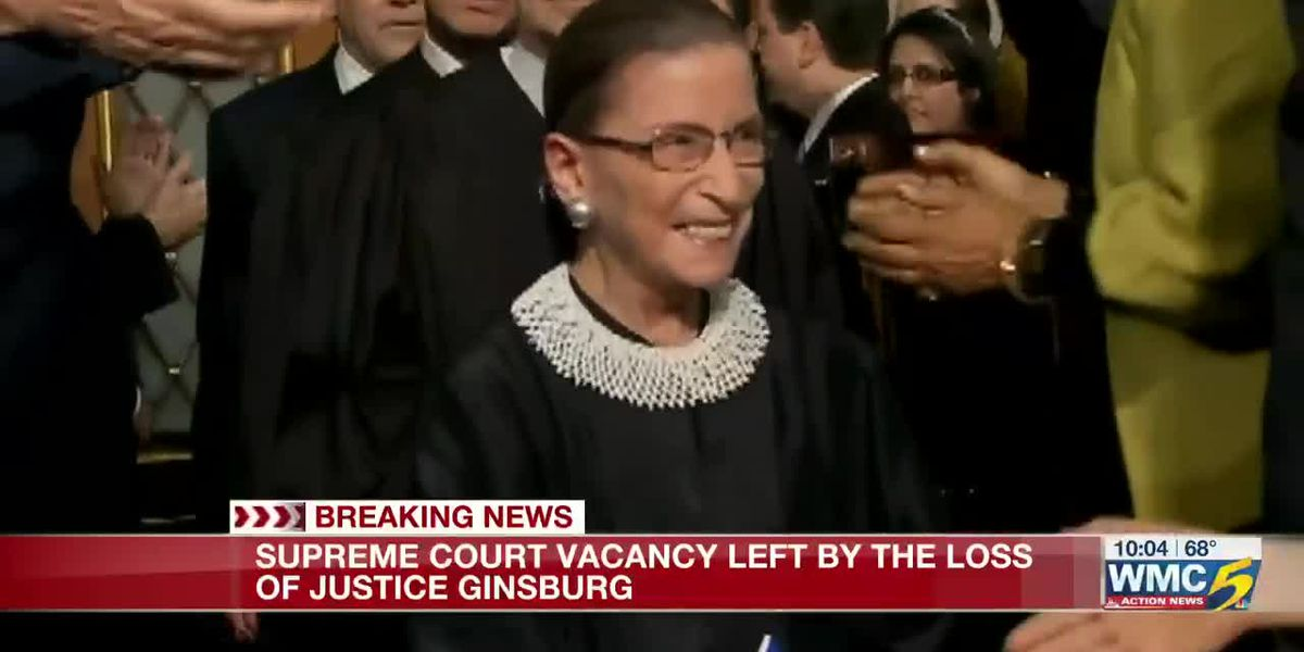 Supreme Court vacancy left by the loss of Justice Ginsburg