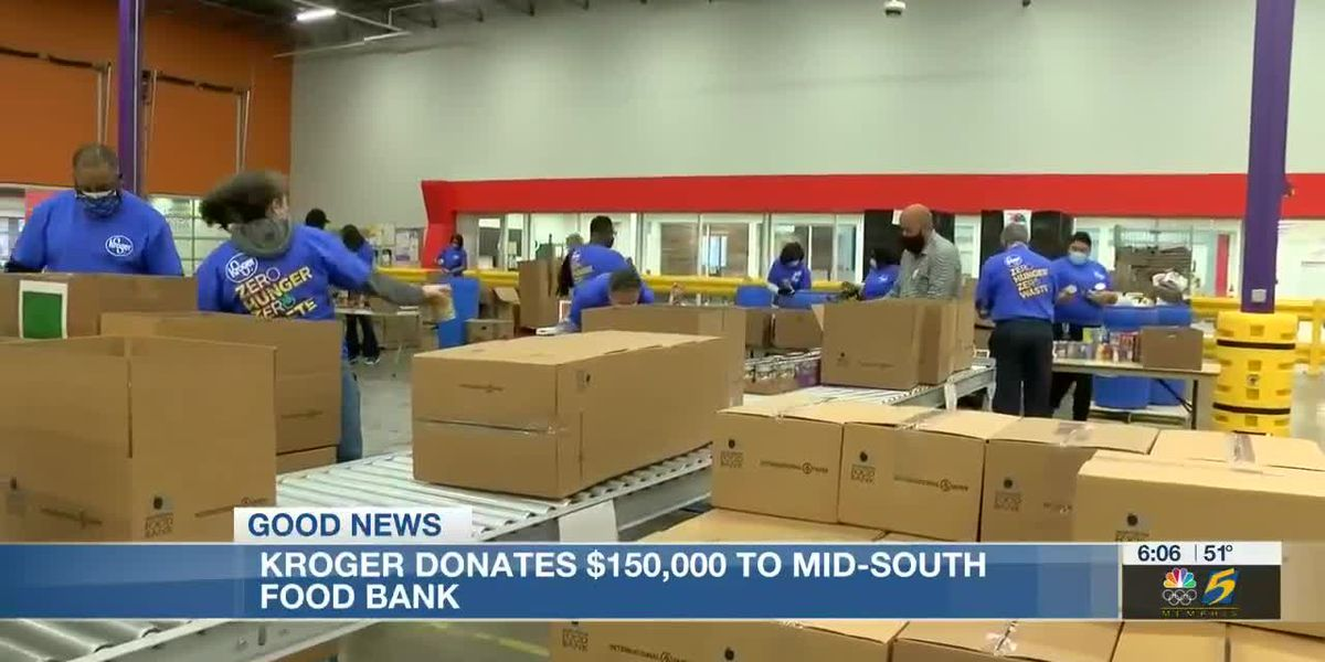 Kroger donates $150K to Mid-South Food Bank in honor of MLK Day