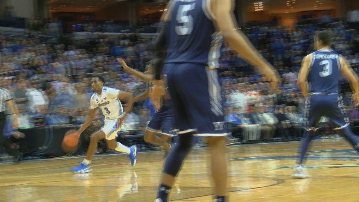 Harris, Martin help Memphis beat Yale 109-102 in 2OT