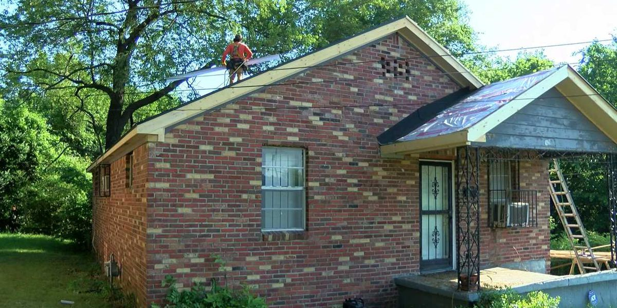 Habitat for Humanity gives Whitehaven veteran new roof