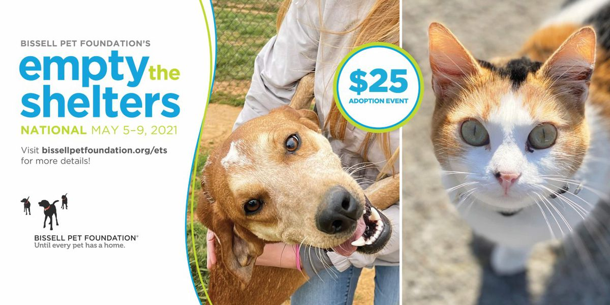 MAS to host 5-day Empty the Shelters adoption event