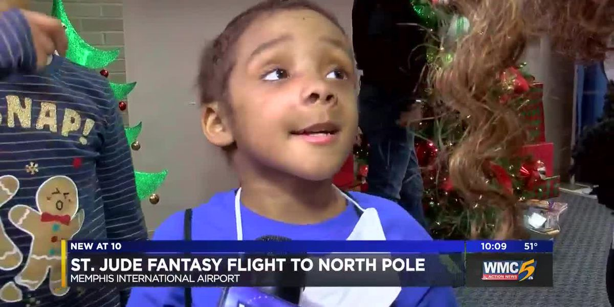 St. Jude patients take flight to North Pole