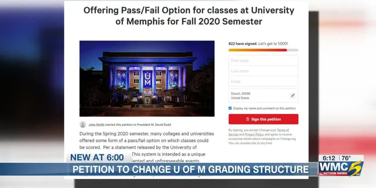 UofM student asks for pass/fail grading system for 2020 semester