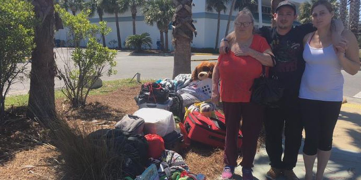 Family faces homelessness in Hurricane Michael's aftermath