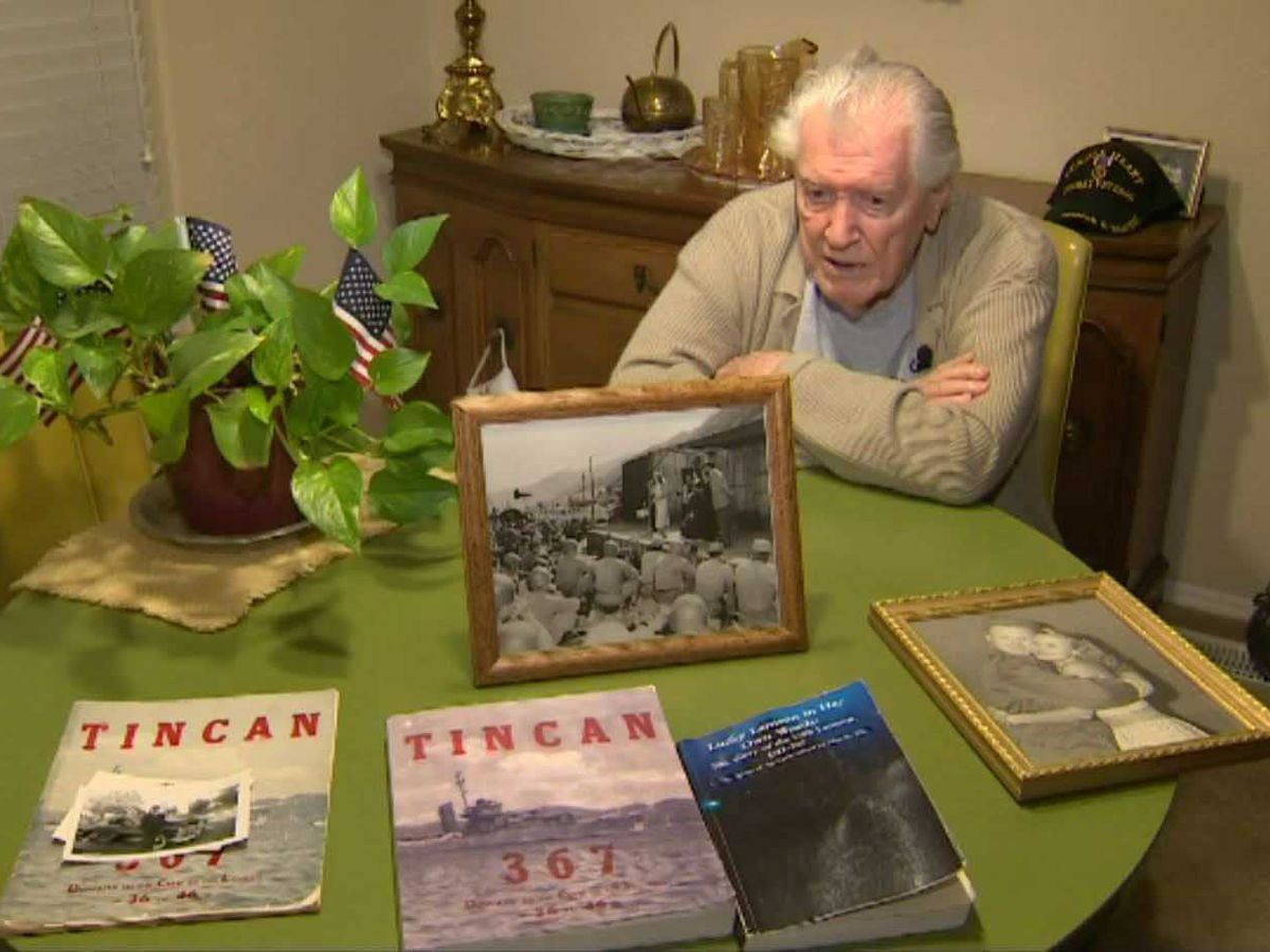 World War II vet wants cards for his 96th birthday